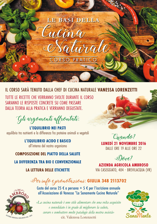 corso base di cucina naturale - ambroso - Corso Base Di Cucina